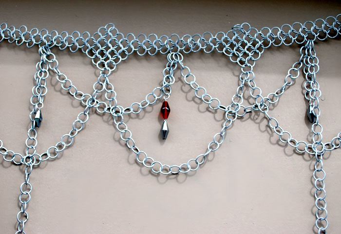 galvanized steel chainmaille