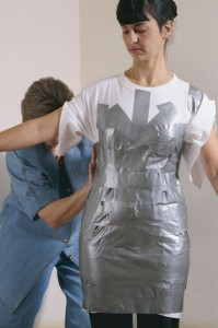 How to make a duct tap dress form