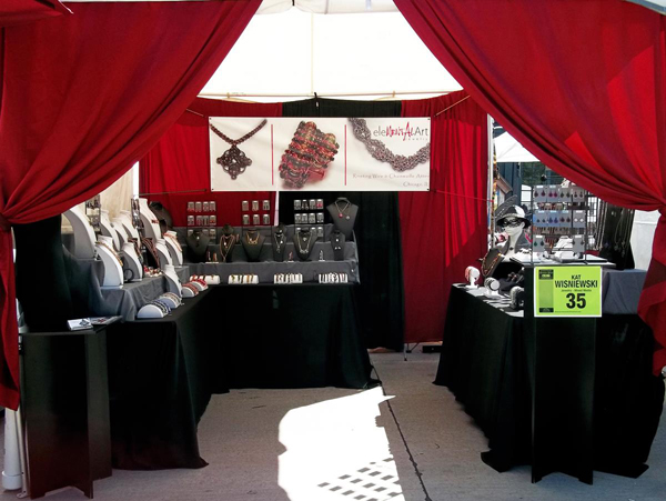 Tips To Make Your Arts Crafts Show BoothBig Or SmallLook Great - Car show vendor ideas