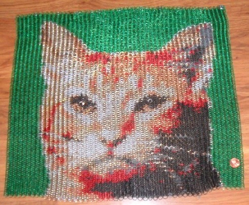 chainmaille-cat