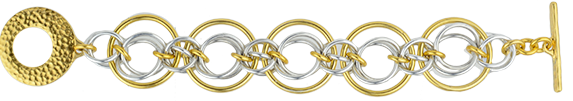 mayhem chainmaille bracelet