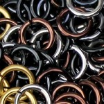 metallic jump rings