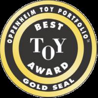 Oppenheim Toy Portfolio Best Toy Award Seal
