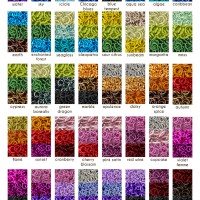 beautiful ombres swatches for crafting jewelry