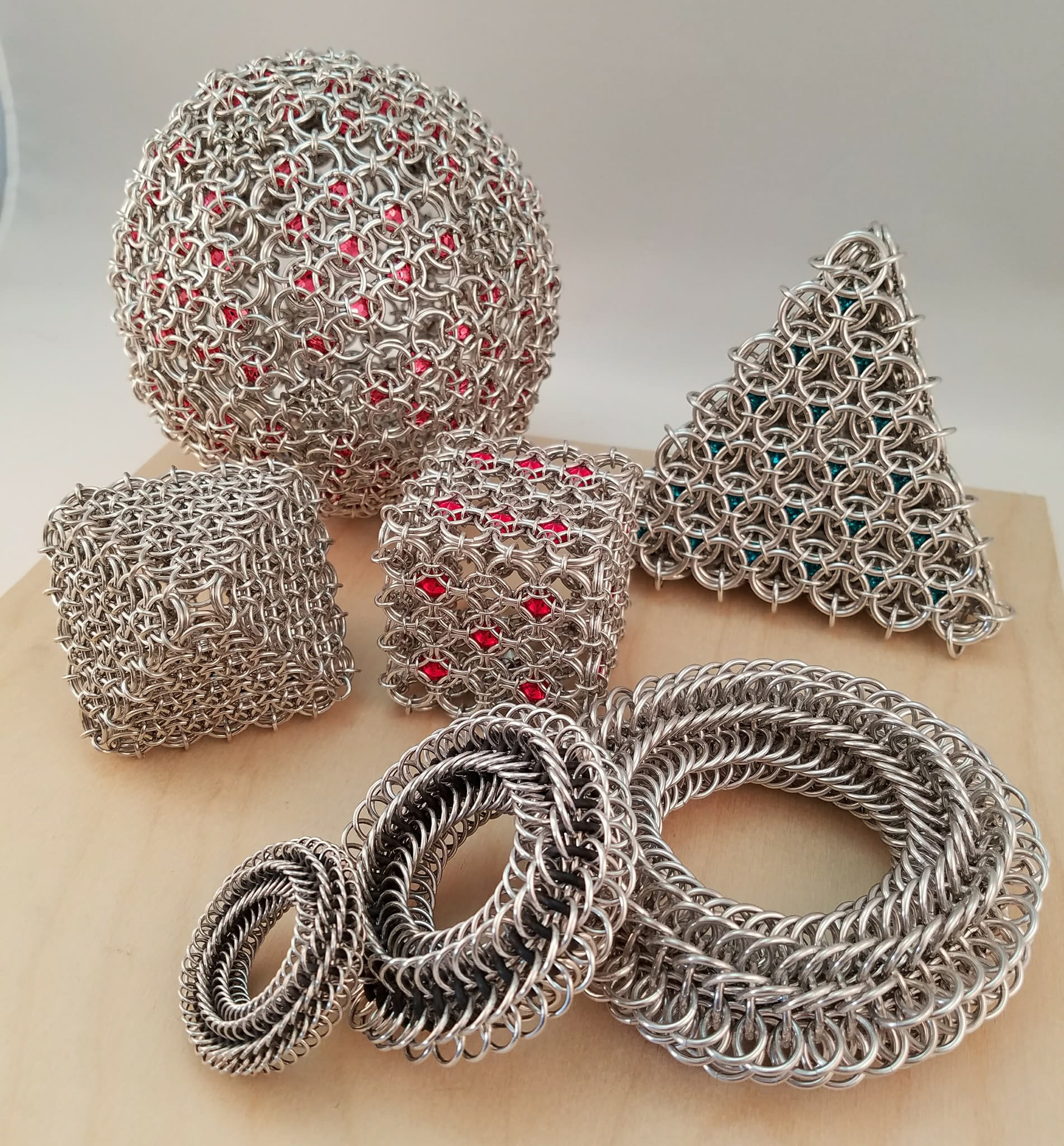 3D chainmaille shapes