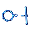 electro coated toggle blue