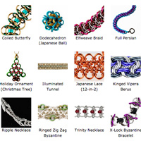 chainmaille weaves by Blue Buddha Boutique
