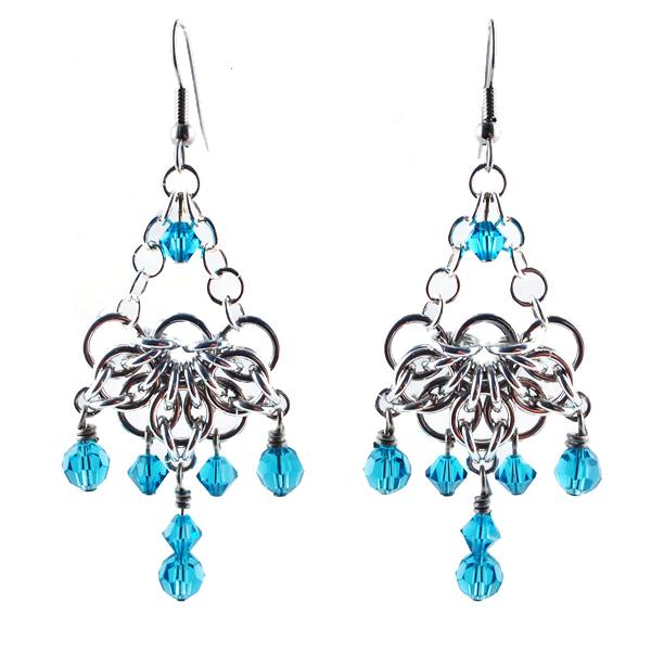Celtic Fan Earrings by Colin Mahler | Blue Buddha Boutique