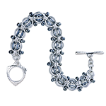 Aluminum Beaded Chainmaille