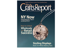 cover of The Crafts Report February 2014 issue