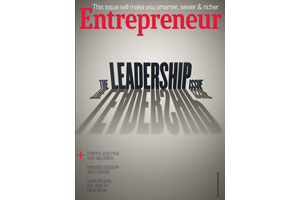 Entrepreneur Magazine March 2014 cover - the Leadership Issue