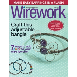 Wirework Magazine Spring 2015, BK-MAG-WIRE-SPR15, Wirework Magazine Spring 2015 featuring braided ladder