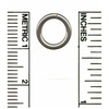 Stainless Steel Closed Rings, Closed L16 Ring - Stainless Steel