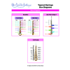 DIAGRAMS - Tapered Earrings GOLD+SILVER - PDF, INS-TAPERED-EAR-GLFL, tapered chainmaille earrings