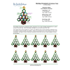 INSTRUCTIONS - Holiday Ornament (Tree) - left hand - PDF, INS-XMASTREE-L