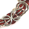 Bold & Brilliant Byzantine, KIT - Bold and Brilliant Byzantine - Copper, glass chainmaille jewelry