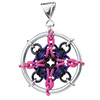 Dreamcatcher Pendant, KIT - Dreamcatcher Pendant kit - As shown Aluminum pink/ purple/ black (5 pack), rubbermaille dreamcatcher pendant in purple and pink