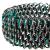 Speedweaving Rubber Dragonscale, KIT - Dragonscale Anodized Aluminum with Rubber Rings