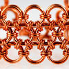 Japanese Lace chainmaille weave