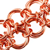 Möbius Bracelet, KIT - SALE - Möbius Bracelet - Aluminum (WAS $22), double-row Mobius chainmaille bracelet in copper