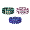 Xs and Os Bracelet, KIT - X's and O's - Customizable, Xs and Os rubbermaille bracelet