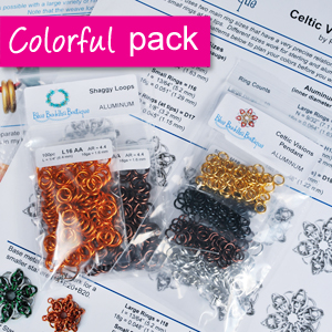 Colorful Starter Pack - Warm Colors - RIGHT, KIT-CLRFL-WARM-R