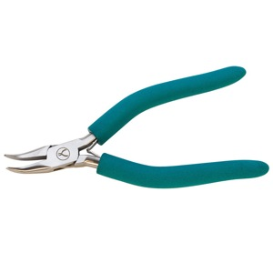 1 pair Wubbers Bent Nose Pliers