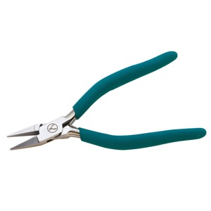 1 pair Wubbers Narrow Flat Nose Pliers