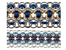 Find Jump Ring Sizes for Chainmaille Weave
