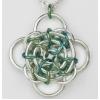 gaelic rose pendant
