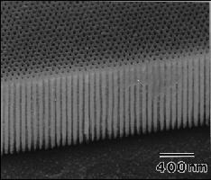 anodized aluminum surface