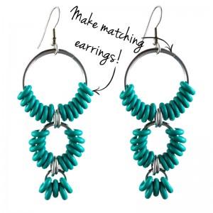 CoiledRUBR-earrings-arrows