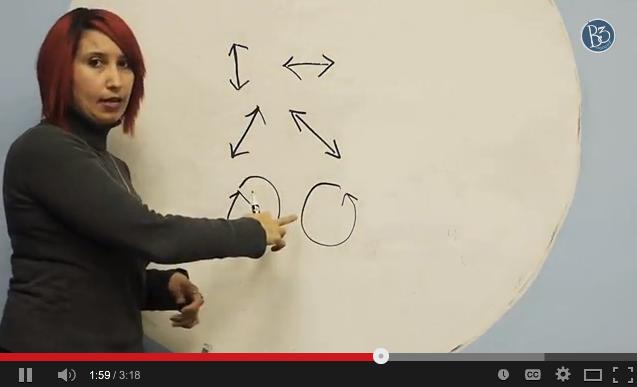 screen shot of eye yoga exercises video