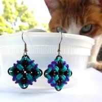 cat photobombing jewelry
