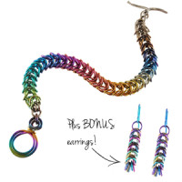 chainmaille rainbow