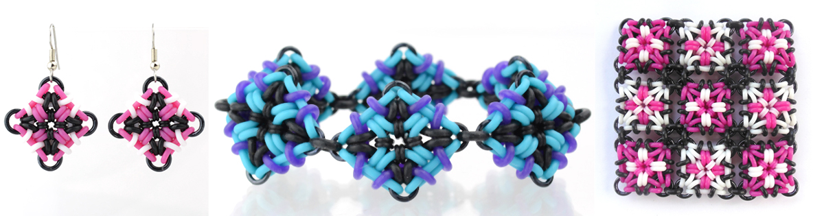 rubbermaille patterns by Rebeca Mojica