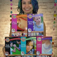 Rebeca Mojica with Linkt Craft Kits boxes