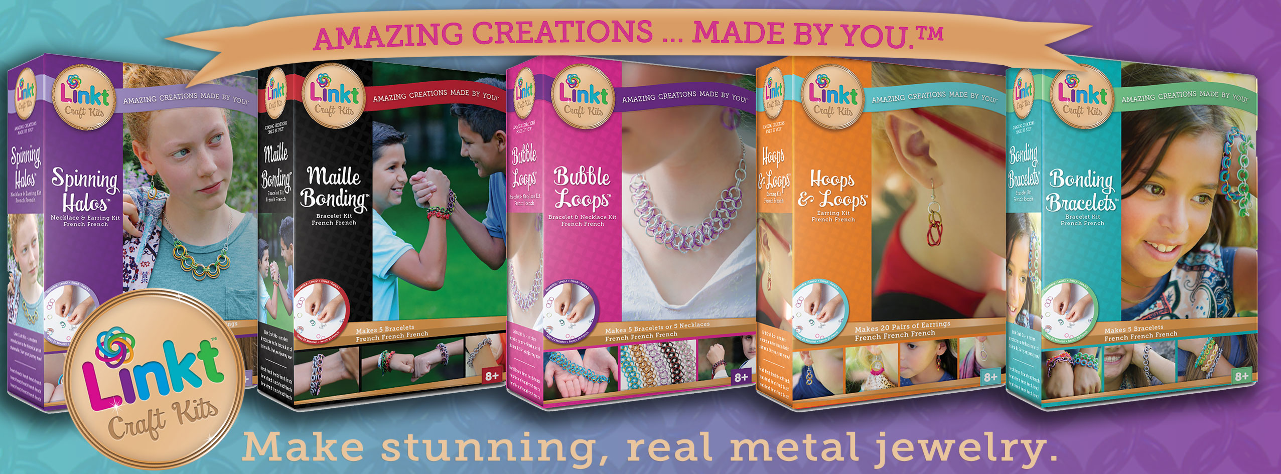 Linkt Craft Kits boxes