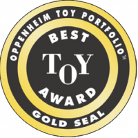 Oppenheim Toy Portfolio Best Toy Award Seal