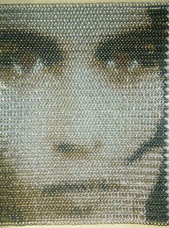 johnny depp chainmaille inly by tony moeller