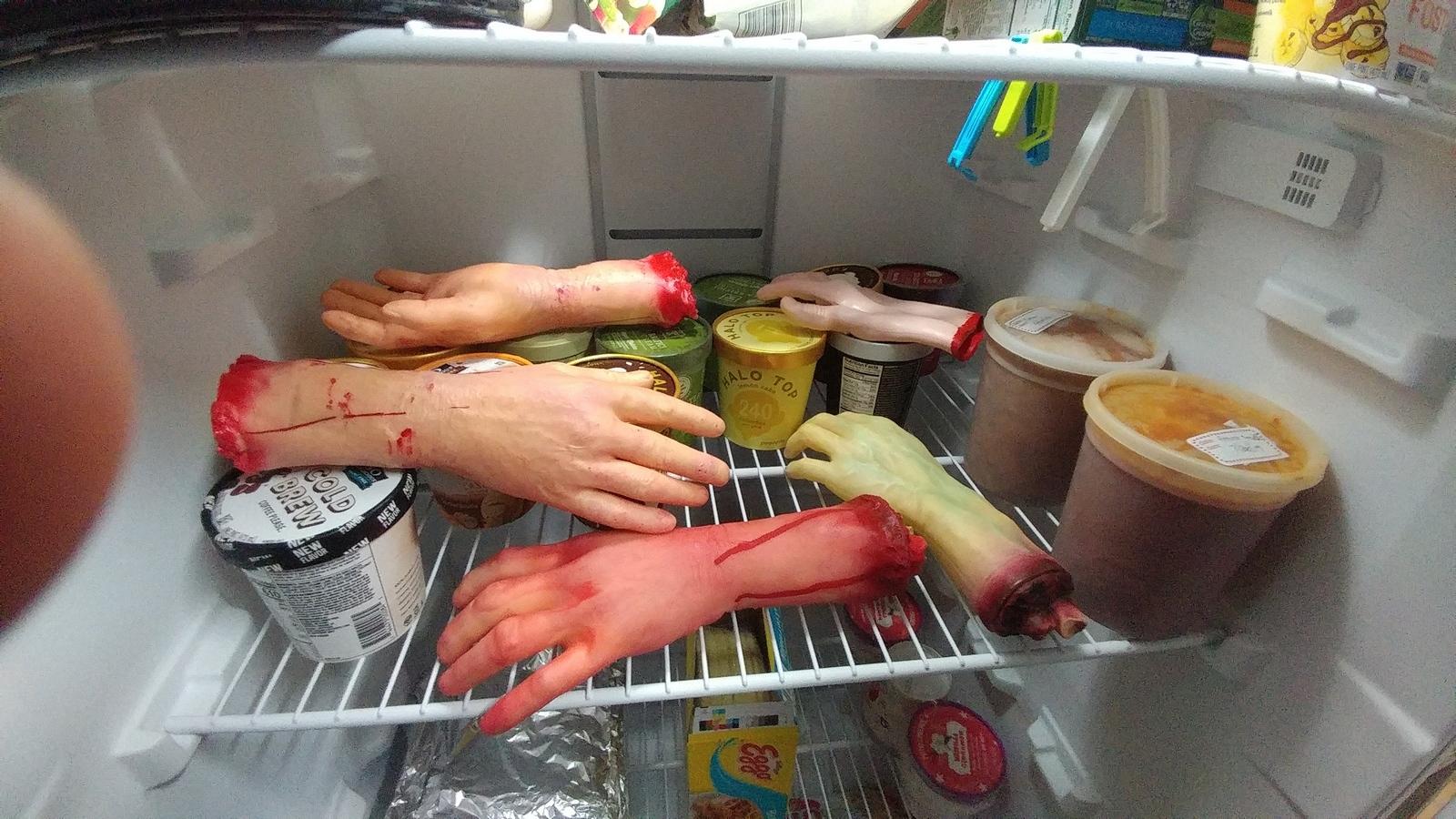 freezerhands