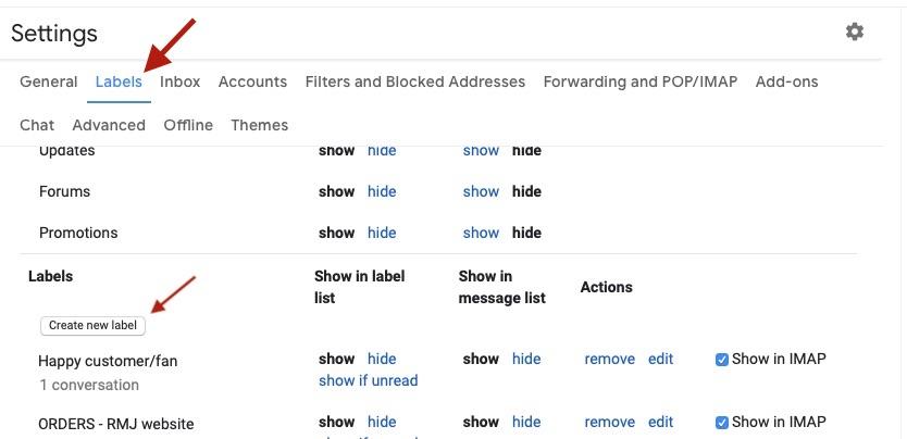 screenshot gmail desktop labels tab create new label