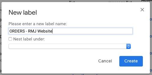 screenshot gmail desktop create new label