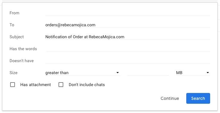 screenshot gmail desktop create filter