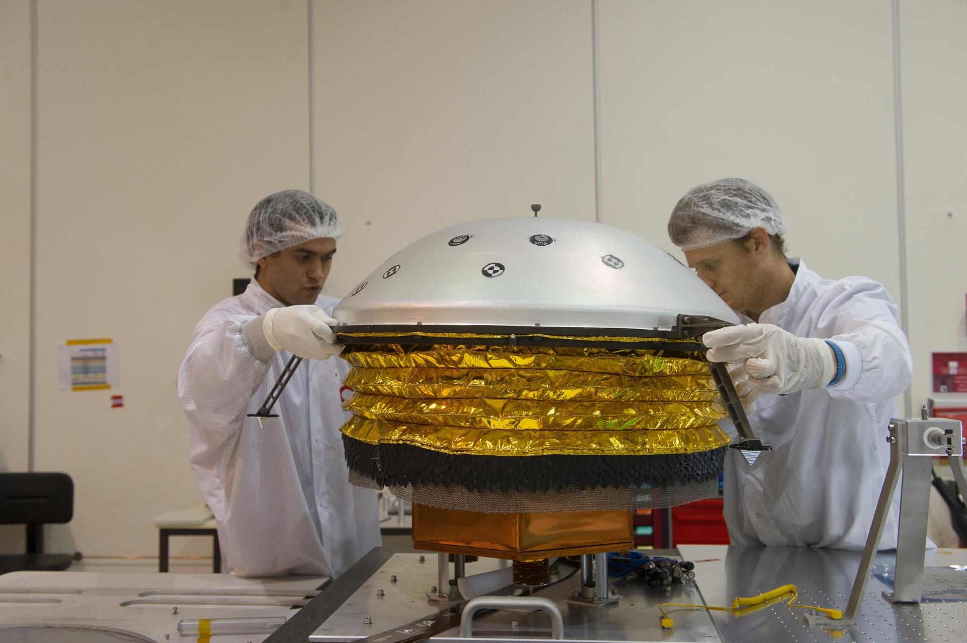Mars In Sight Nasa JPL CalTec