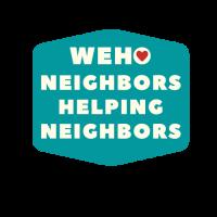 WeHo Neighbors Helping Neighbors green logo