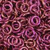 pink anodized aluminum jump rings