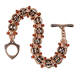 Beaded Helm Jewelry Brass