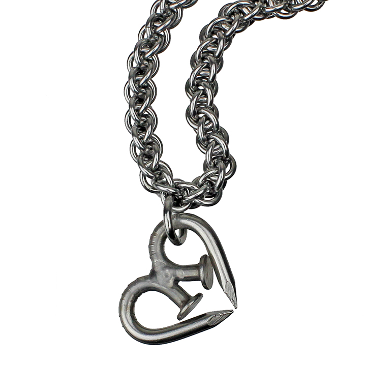 Nailmaille Heart Necklace