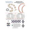 INSTRUCTIONS - Japanese Cross Bracelet - right hand - PDF, INS-JCRS-BRC-R